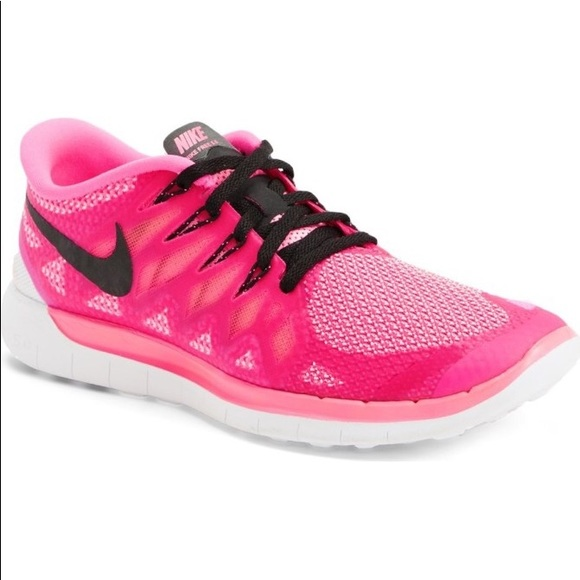 Nike Free 5.0 Pink Running Shoes